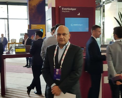 Privity, LLE CEO Sleem Hasan at the inaugural Fin Tech Abu Dhabi Challenge